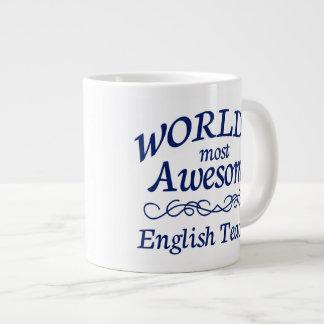 World's Most Awesome English Teacher Giant Coffee Mug