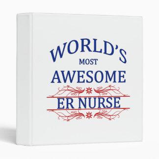 World's Most Awesome ER Nurse Binder
