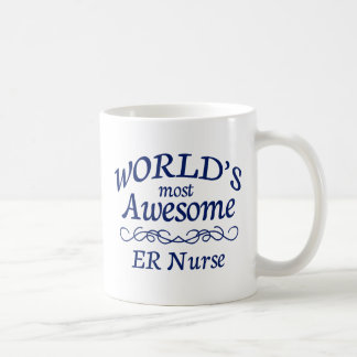 World's Most Awesome ER Nurse Coffee Mug