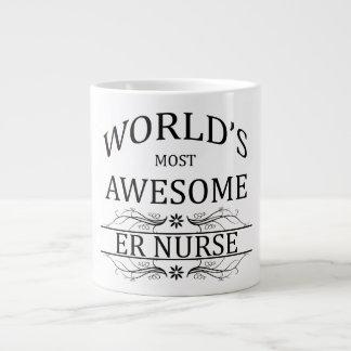 World's Most Awesome ER Nurse Large Coffee Mug
