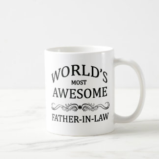 World's Most Awesome Father-In-Law Coffee Mug
