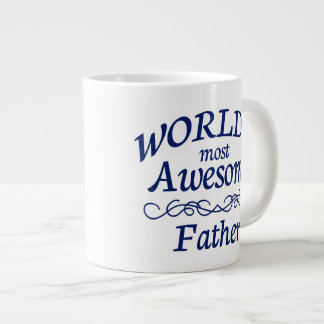 World's Most Awesome Father Large Coffee Mug