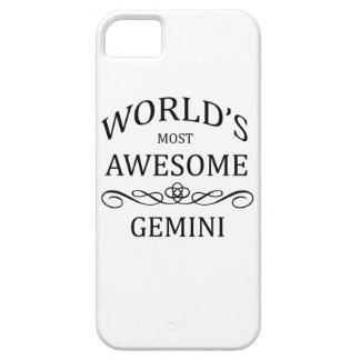 World's Most Awesome Gemini iPhone SE/5/5s Case