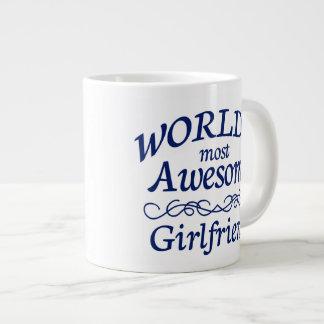 World's Most Awesome Girlfriend Giant Coffee Mug