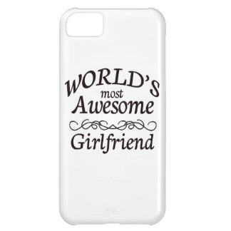 World's Most Awesome Girlfriend iPhone 5C Covers