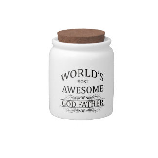 World's Most Awesome God Father Candy Jars