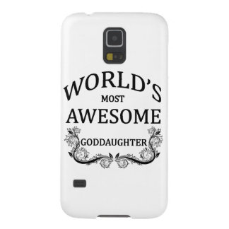 World's Most Awesome Goddaughter Galaxy S5 Case