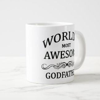 World's Most Awesome Godfather Giant Coffee Mug
