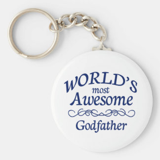World's Most Awesome Godfather Keychain