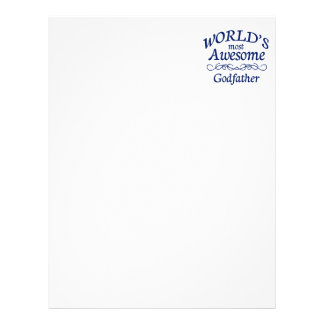 World's Most Awesome Godfather Letterhead