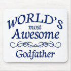 World's Most Awesome Godfather Mouse Pad
