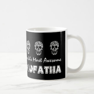 World's Most Awesome GODFATHER Zebra Skulls V16 Coffee Mug