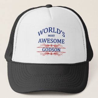 World's Most Awesome Godson Trucker Hat