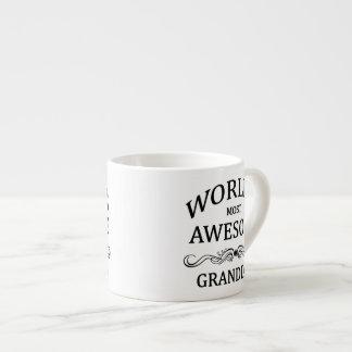 World's Most Awesome Granddad 6 Oz Ceramic Espresso Cup
