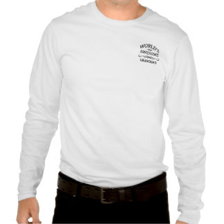 World's Most Awesome Granddad Tshirts