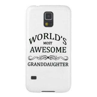 World's Most Awesome Granddaughter Case For Galaxy S5
