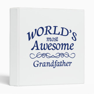 World's Most Awesome Grandfather Binder