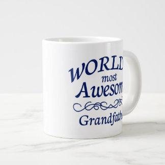 World's Most Awesome Grandfather Large Coffee Mug