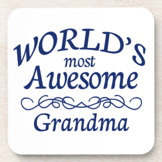 World's Most Awesome Grandma Coaster