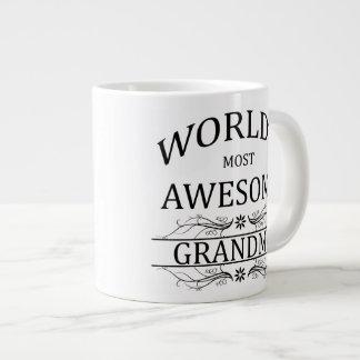 World's Most Awesome Grandma Large Coffee Mug