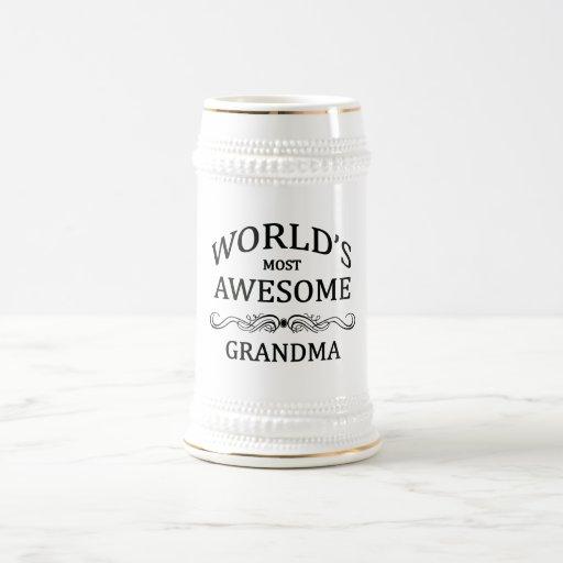 World's Most Awesome Grandma Mugs