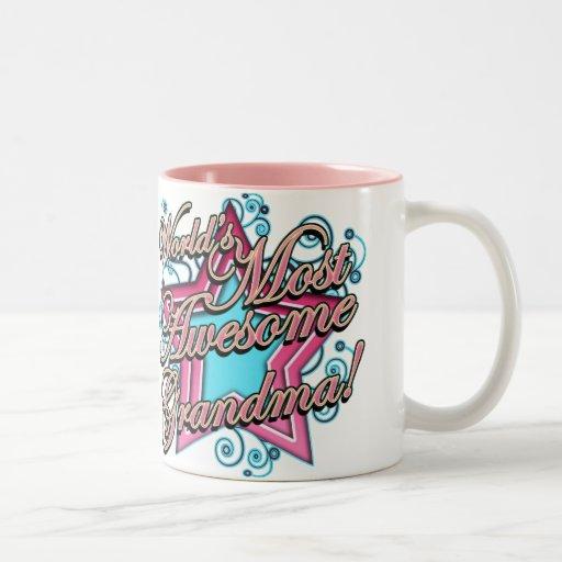 Worlds Most Awesome Grandma Coffee Mugs