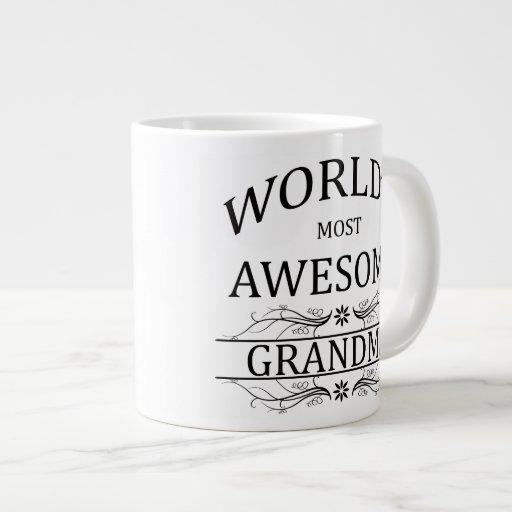 World's Most Awesome Grandma Jumbo Mug