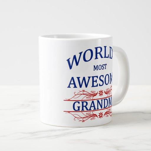 World's Most Awesome Grandma Extra Large Mug