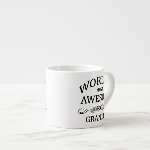 World's Most Awesome Grandma Espresso Mug