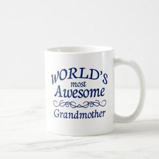 World's Most Awesome Grandmother Coffee Mug