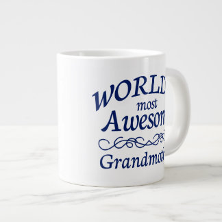 World's Most Awesome Grandmother Large Coffee Mug