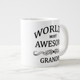 World's Most Awesome Grandpa 20 Oz Large Ceramic Coffee Mug