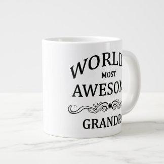 World's Most Awesome Grandpa Giant Coffee Mug