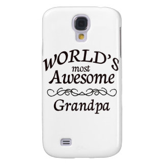 World's Most Awesome Grandpa Samsung Galaxy S4 Cover