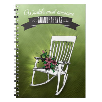 World's most awesome grandparents notebook