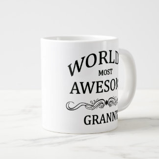 World's Most Awesome Granny Giant Coffee Mug