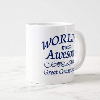 World's Most Awesome Great Grandmother Giant Coffee Mug