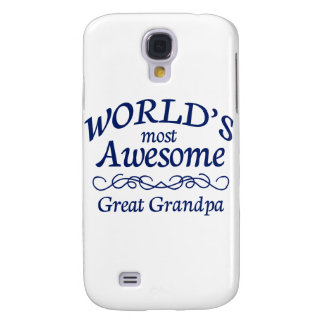 World's Most Awesome Great Grandpa Samsung S4 Case