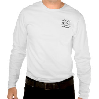 World's Most Awesome Great Grandpa Tee Shirt