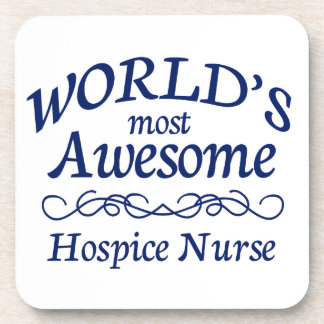 World's Most Awesome Head Nurse Drink Coasters