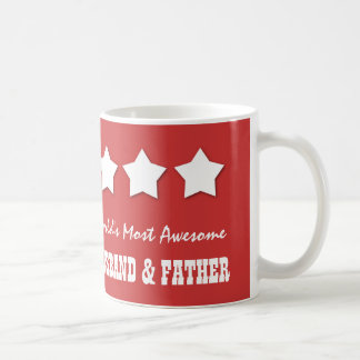 World's Most Awesome HUSBAND and FATHER B077 Coffee Mug