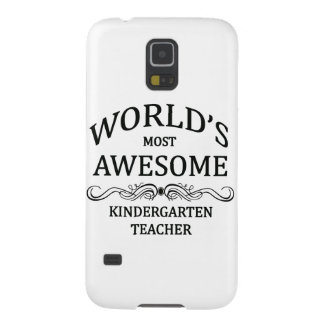 World's Most Awesome Kindergarten Teacher Galaxy S5 Covers
