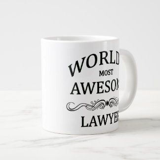 World's Most Awesome Lawyer Giant Coffee Mug