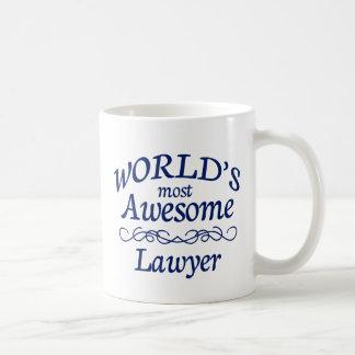 World's Most Awesome Lawyer Mugs