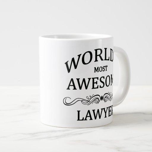 World's Most Awesome Lawyer Extra Large Mug