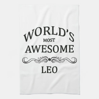 World's Most Awesome Leo Kitchen Towels