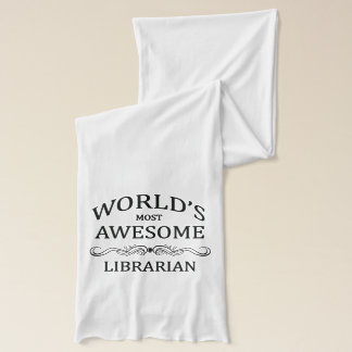 World's Most Awesome Librarian Scarf