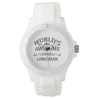 World's Most Awesome Librarian Wrist Watch