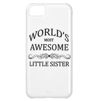 World's Most Awesome Little Sister Cover For iPhone 5C