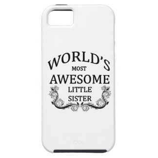 World's Most Awesome Little Sister iPhone SE/5/5s Case